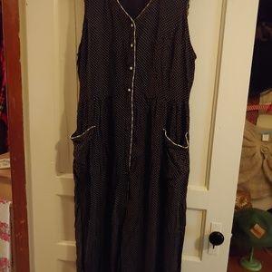 Vintage styled polka dotted dress